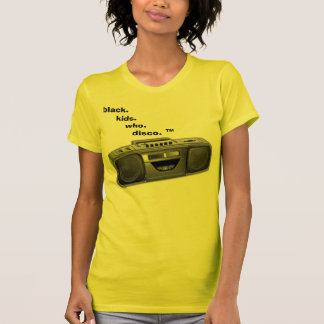 bkwd boombox. T-Shirt