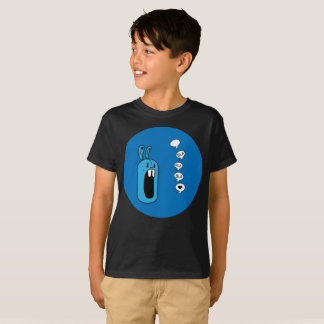 Bla Bla Bla! Blue Rabbit Sphere Art Kids T-Shirt