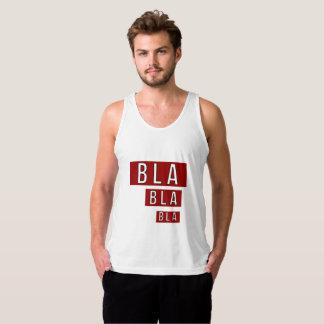 Bla Bla Bla Red Singlet