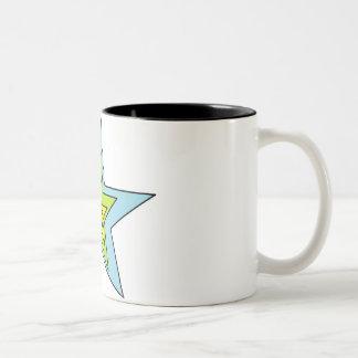 Black 11 oz Two-Tone Mug art by Jennifer Shao