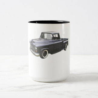 Black 1956 Chevrolet Pickup Two-Tone Coffee Mug
