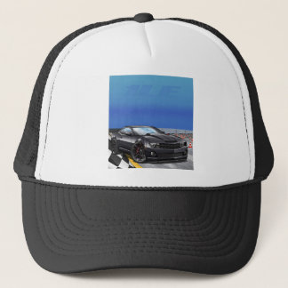 Black_1LE Trucker Hat