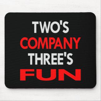 Black 2 Company 3 Fun Mouse Mats