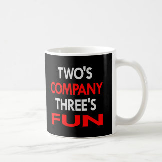 Black 2 Company 3 Fun Coffee Mug