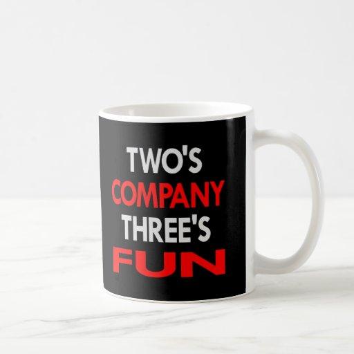 Black 2 Company 3 Fun Coffee Mug