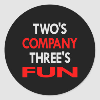 Black 2 Company 3 Fun Sticker