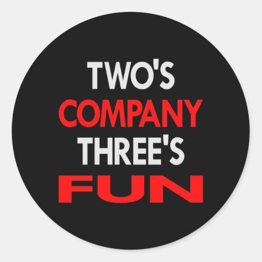 Black 2 Company 3 Fun Sticker
