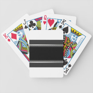 black #2 poker deck