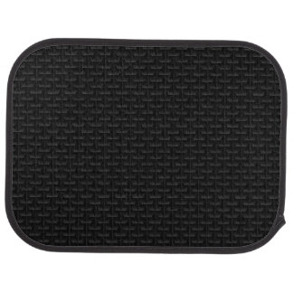 Black 3D mesh Car Mat