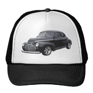 Black 41 Chevy Coupe Hats