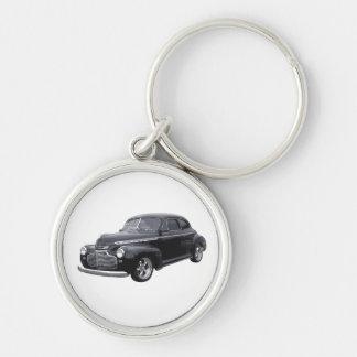 Black 41 Coupe Key Ring