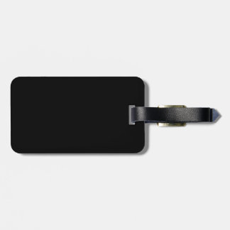 black 8 x 11 design your own product luggage tag
