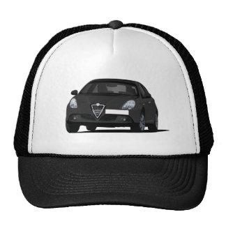 Black Alfa Romeo Giuletta Cap