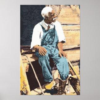 "Black America ""Old Joe"" Poster"