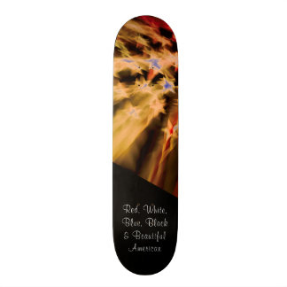 Black American Pride Skateboard Decks