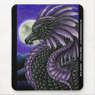 Black Amethyst Mousepad