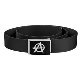 Black Anarchist Belt
