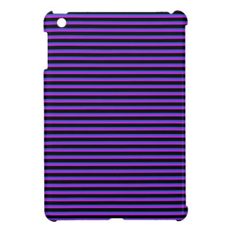 Black and Blue and Purple Stripes Cover For The iPad Mini