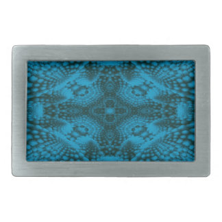 Black And Blue Colorful Belt Buckle