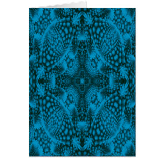 Black And Blue Colorful Greeting Cards & Envelopes