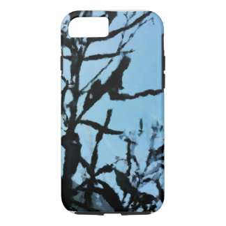 Black and Blue Evening iPhone 7 Case