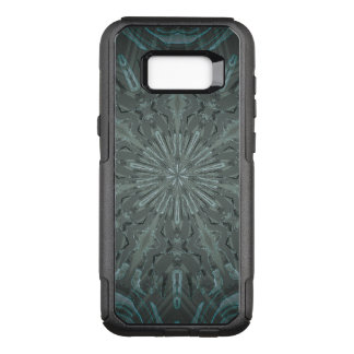 Black and Blue Kaleidoscope OtterBox Commuter Samsung Galaxy S8+ Case