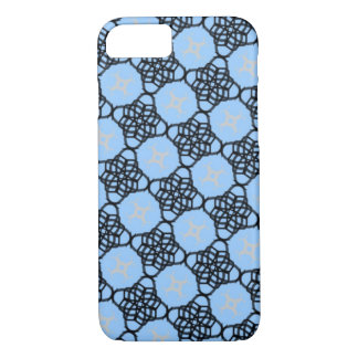 Black and Blue Lace iPhone 7/8 Case