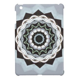 Black and Blue Mandala Case For The iPad Mini