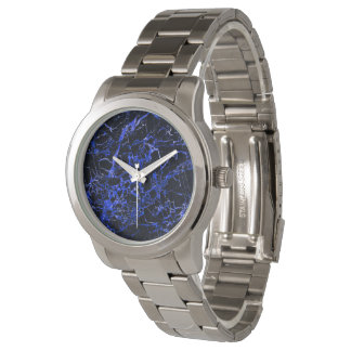 Black and Blue Marble, Wristwatch