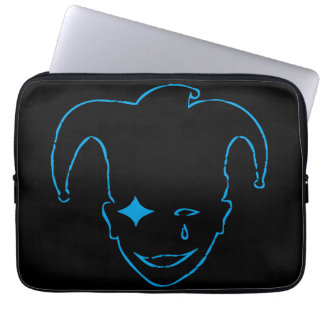 Black And Blue MTJ Laptop Sleeve