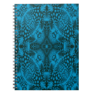 Black And Blue  Photo Notebook