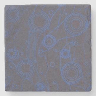 Black and Blue Stone Coaster
