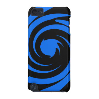 Black and blue swirl iPod touch 5G covers