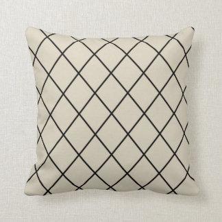 Black and Cream Pillow