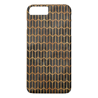 Black and Gold Abstract Pattern iPhone 8 Plus/7 Plus Case