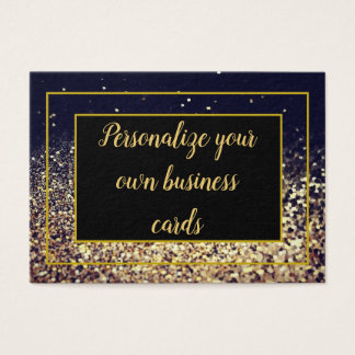 Black and Gold Buisness Cards