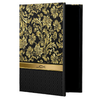 Black And Gold Damasks 4 & Geometric Pattern Powis iPad Air 2 Case