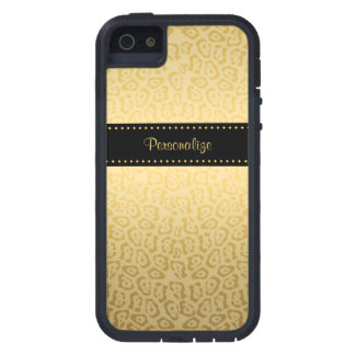 Black and Gold Jaguar iPhone 5 Case