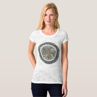 Black and Gold Mandala Shirt