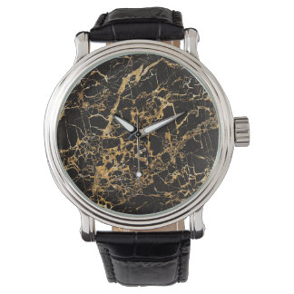 Black and Gold Marble, Watch