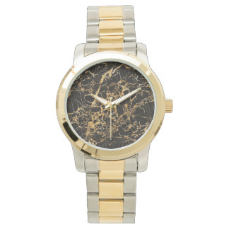 Black and Gold Marble, Watches