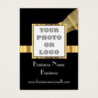 Black and gold  photo logo