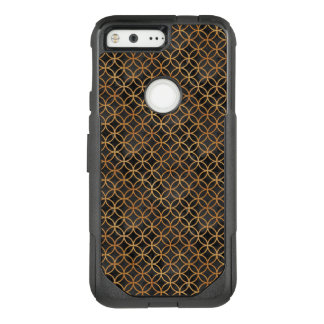 Black and Gold Seamless Pattern OtterBox Commuter Google Pixel Case