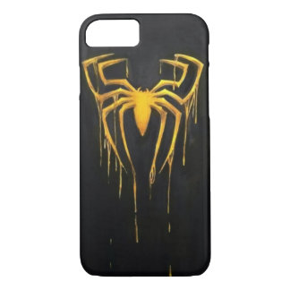 Black and gold spider case