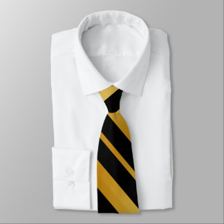 Black and Gold Stripes3 Tie