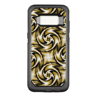 Black and Gold Swirls OtterBox Commuter Samsung Galaxy S8 Case