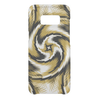 Black and Gold Swirls Uncommon Samsung Galaxy S8 Case