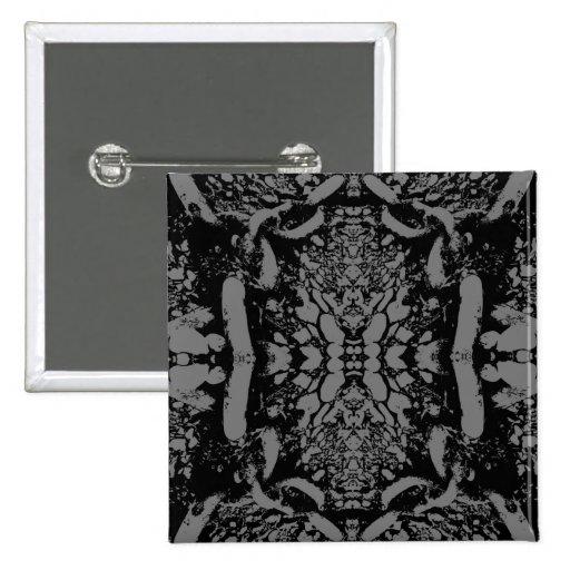 Black and Gray Abstract. Pins