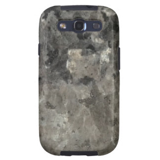 Black And Gray Marble Samsung Galaxy SIII Cases