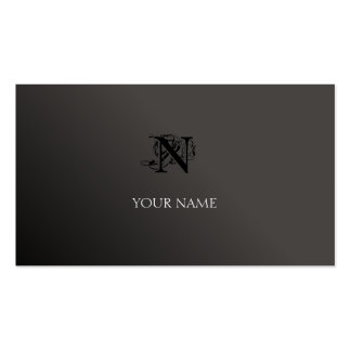 Black and Gray Pack Of Standard Business Cards